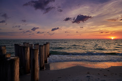 Gulf sunset (another_scotsman) Tags: naples florida sunset beach sky shore