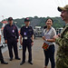 Members of Japan Self-Defense Forces and Master Labor Contractors tour of the USS Blue Ridge