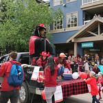 Westin bear, Whistler's Canada Day parade thumbnail