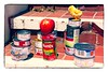 CHICKEN FEED (akahawkeyefan) Tags: apple canned goods cans chicken monterey davemeyer