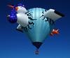 Albuquerque International Balloon Fiesta 2014.  Hot-air balloon.  New Mexico, USA. (cbrozek21) Tags: albuquerqueinternationalballoonfiesta balloonfiesta albuquerque newmexico hotairballoon balloon