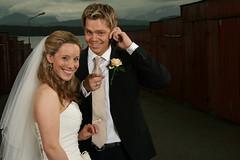 Interruption (Elfworld) Tags: wedding weddingphotography bride groom suit molde summer june romsdal portrait portraitphotography shona kyrre cellphone weddingband rings clouds nature fun norway norwegian british beauty