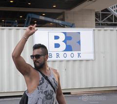 Pedro (Sir Heck C) Tags: no model pose street photo toronto 2018 construction site urban canada flag gh5 cn tower