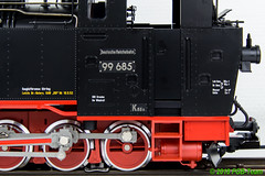 LGB 20842 - Sächs. VIk 99685 (Stefan's Gartenbahn) Tags: lgb vik 99653 99685 sächsischevik sachsen gartenbahn fgb fgbberlin fgbteam doppeltraktion brücke holzenow mbe