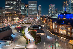 東京車站 Tokyo city (里卡豆) Tags: chiyodaku tōkyōto 日本 jp olympus epl9 olympusepl9 東京車站 panasonicleicadg818mmf2840 panasonic leica dg 818mm f2840 asia 東京 關東 japan kanto tokyo