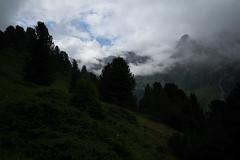 a touch of autumn (Toni_V) Tags: m2408275 rangefinder digitalrangefinder messsucher leicam leica mp typ240 type240 28mm elmaritm12828asph alpen alps preda albula graubünden grisons grischun switzerland schweiz suisse svizzera svizra europe clouds fog sky summer sommer landscape mountains ©toniv 2018 180707
