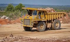 P1630209 (Denis-07) Tags: caterpillar truck tombereau benne 769c camion dumper machine dtp