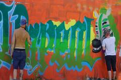 MOS  Meeting of styles 2018 in Wiesbaden (Marco Braun) Tags: streetart wallart mural wiesbaden meetingofstyles 2018 portrait colourfulcoloured farbig bunt maske masque mann homme mos germany deutschland allemagne urbanart blau blue bleu dosenkunst spraycan aerosol spraydose action painting men writer hessen deutschlandgermanyallemagne