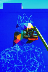 Blueprint - Okuda San Miguel - Edmonton (Mister Day) Tags: okuda san miguel okudasanmiguel paint artist spraypaint urban infrared edmonton