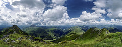 Kitzbühel Alps (tomas.jezek) Tags: alps mountains rocks view viewpoint vista kitzbühelalps kitzbühel green blue clouds sky nature amazing place