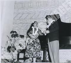 917- 5556 (Kamehameha Schools Archives) Tags: kamehameha archives ksg ksb ks oahu kapalama luryier pop diamond 1955 1956 mildred tolentino harold turney lei day may