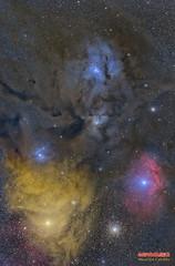 Antares LRGB (Maurizio Cabibbo) Tags: space science skynight stars sky astronomy astrophotography astro telescope long exposure nebula deepsky deep