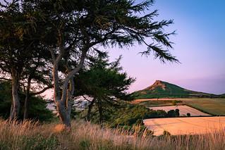 Roseberry Topping Cliff Ridge