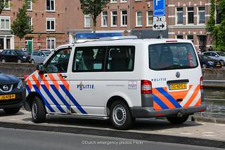 Dutch police Volkswagen Transporter 5