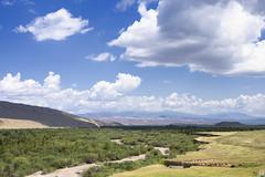 * (monorail_kz) Tags: almatyregion kazakhstan centralasia alatau tekes summer 2018 july river mountains mountainside landscape highlands kegen valley forest sky midday clouds