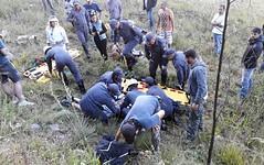 Instrutor de paraglider e criança de 10 anos ficam feridos durante salto em Poços de Caldas, MG (portalminas) Tags: instrutor de paraglider e criança 10 anos ficam feridos durante salto em poços caldas mg