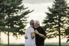 (Rebecca812) Tags: dance slowdance activeseniors man woman couple marriage trees outdoors evergreen pine beautifulnature love togetherness candid people portrait realpeople rebeccanelson canon rebecca812 sunset idyllic watch whitehair grayhair bond family twopeople senior