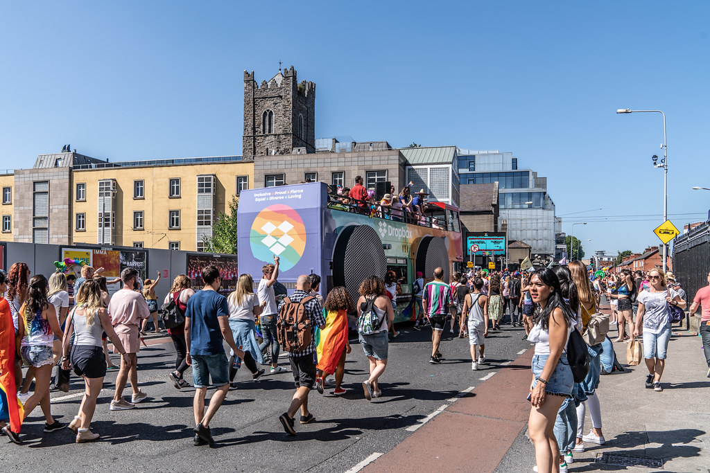 ABOUT SIXTY THOUSAND TOOK PART IN THE DUBLIN LGBTI+ PARADE TODAY[ SATURDAY 30 JUNE 2018] X-100005