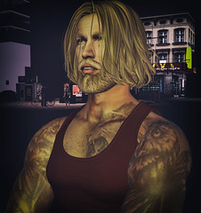 PaoloNewShape (Paolo Barom ♥) Tags: secondlife sexy man sensual straydog hipster mature hunk legalinsanity