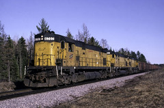 Going Out in Style (ac1756) Tags: cnw c628 alco 6707 northwestern littlelake michigan chicagonorthwestern extrawest