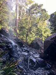 Splash and spray ([S u m m i t] s c a p e) Tags: springbrooknationalpark hiking trailrunning springbrook queensland australia