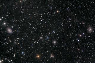 NGC4622, NGC4603, NGC4650 - Galaxy Group | LHaRGB