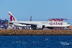A7-BES QR B77W 16R YSSY-2361 (A u s s i e P o m m) Tags: qatar qatarairways qr boeing b77w syd yssy sydneyairport