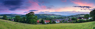 Afterglow over Hathersage
