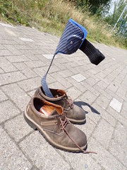 AFO - leg brace (herby_02) Tags: gehbehinderung gehbehindert behinderung behindert bein disability disabled handicap hilfsmittel orthopedic orthopädisch leg legbrace afo orthese orthesis