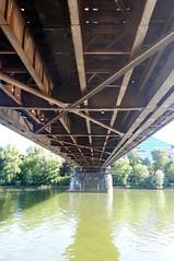 2018-07-03 006 Frankfurt, Deutschherrenbrücke (Joachim_Hofmann) Tags: frankfurt frankfurtammain mainufer main