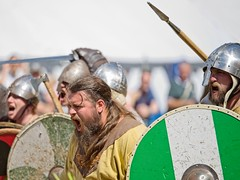 _IMG6207on14x3 (douglasjarvis995) Tags: vikings fight fighting scream