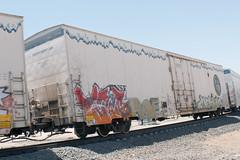 BNSF 793686 (chrisibbotson) Tags: railroad railfan usa chrisibbotson bnsf bnsfrailway reefer calienteca