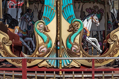 Ride the carousel (Leaning Ladder) Tags: tirana albania merrygoround carousel colors leaningladder canon 7dmkii
