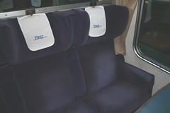 Mk2 BSO S9392 Int (13) (Transrail) Tags: mk2 coach carriage interior passenger train railway britishrail seat window carpet guardcompartment brakestandardopen bso
