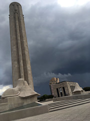 Stormy sky at Liberty Memorial (mdhorns) Tags: travel kansascity missouri museum memorial architecture storm clouds