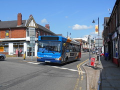 Stagecoach in South Wales 34670 (Welsh Bus 18) Tags: stagecoach southwales dennis dart slf 3 34670 cn54edr blackwood