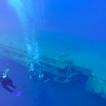 Diving on the wreck of the Zenobia thumbnail