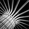 Sprouting (Ulrich Neitzel) Tags: abstract architecture architektur bw hamburg lines linien mzuiko1240mm metro monochrome olympusem1 pillar schwarzweiss square säule