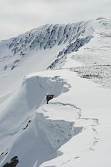 A face in the snow. (Davie Main) Tags: face sadface snow snowcornice cornice snowyledge snowledge snowyridge ridge greycorries centralhighlands scottishhighlands scotland nevisrange stobcoirenaceannain faceinthesnow
