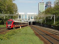 "Newag ""Impul"" 35WE-003, SKM Warszawa (transport131) Tags: pociąg train ezt newag impuls 35we skm warszawa ztm wtp"