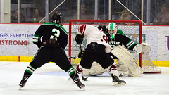 Makin' a move (R.A. Killmer) Tags: sru acha ice hockey slippery rock university 2018 skate stick skill fast shot goal