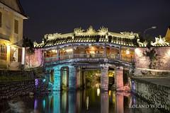 Hoi An - Japanese Bridge (Rolandito.) Tags: vietnam asia south east southeast hoi an japanese bridge night abend evening blue hour dusk twilight illuminated illumination