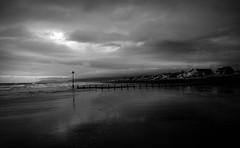 (plot19) Tags: landscape light love plot19 photography britain british blackwhite blackandwhite black sea seascape seaside coast uk nikon north northern wales cymru