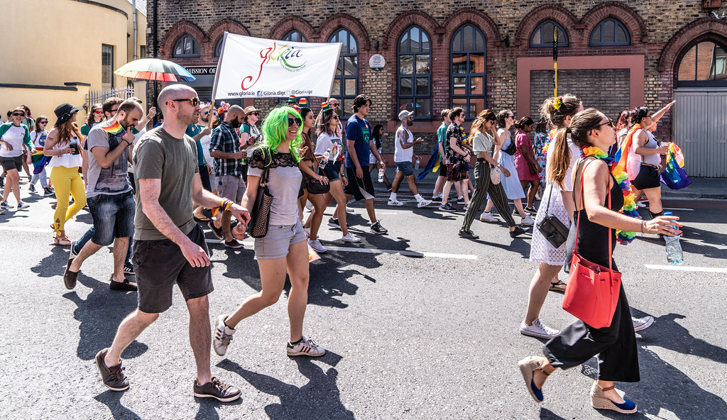 ABOUT SIXTY THOUSAND TOOK PART IN THE DUBLIN LGBTI+ PARADE TODAY[ SATURDAY 30 JUNE 2018] X-100173