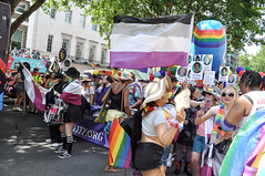 London Pride 2018 (MangakaMaiden Photography) Tags: londonpride london lgbt queer gay lesbian transgender asexual pride rainbow spectrum balloons parade flags lgbtqia