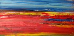 The red lagoon near Torrevieja (Peter Wachtmeister) Tags: artinformel mysticart modernart popart artbrut phantasticart minimalart abstract abstrakt acrylicpaint surrealismus surrealism hanspeterwachtmeister