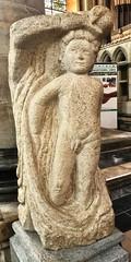 Ancient naturalist statue (dksesh) Tags: seshadri dhanakoti harita menaka apple iphone sesh seshfamily haritasya vilambisamvatsara appleiphone7 appleiphone iphone7