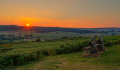 Sun setting over Fryupdale (Dave2638) Tags: nymr northyorkshire eskvalley