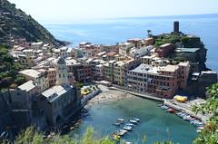 Vernazza, Cinqueterre (Black Rock Photo) Tags: italy liguria cinqueterre vernazza hikingtrail hikingcinqueterre harbor mediterranian