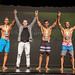 MENS PHYSIQUE B - 2 ZACK MATTHEWS 1 MARK OAKLEY 3 BYRON JACKMAN